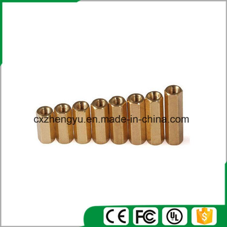 M3 Female to Female Brass Hex Standoff/Spacer, M3 Brass Hex Standoff