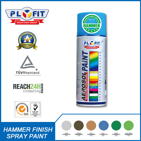 Hammer Finish Spray Paint