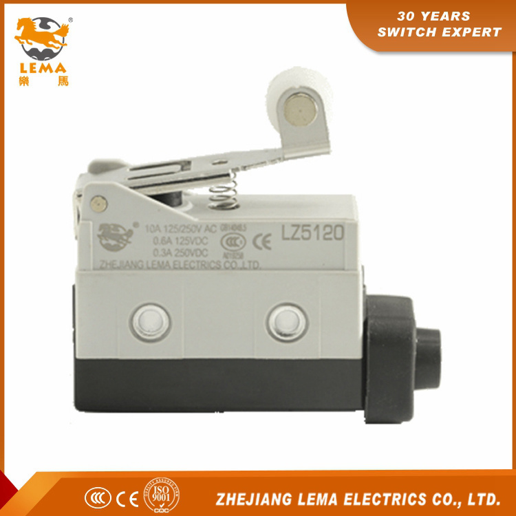 Lema Lz5120 Short Roller Lever Sealed Limit Switch