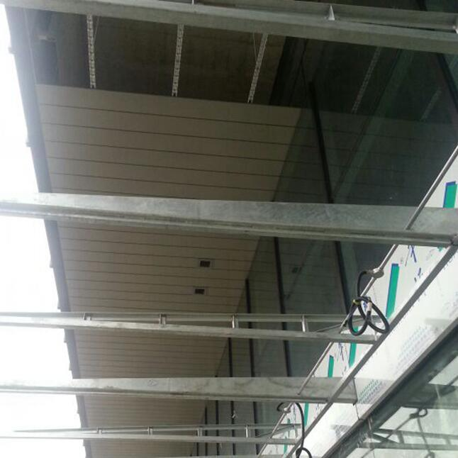 Aluminum G-Shaped Strip Ceiling with Windproof for Outdoor Use