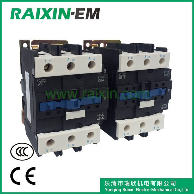 Raixin Cjx2-95n Mechanical Interlocking Reversing AC Contactor