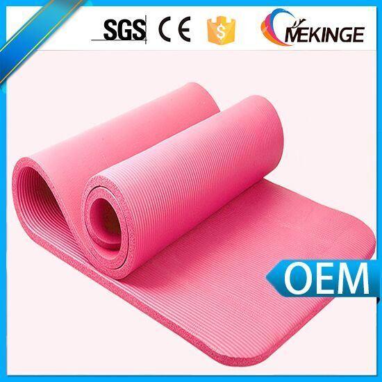 Durable Washable NBR Design Yoga Mat