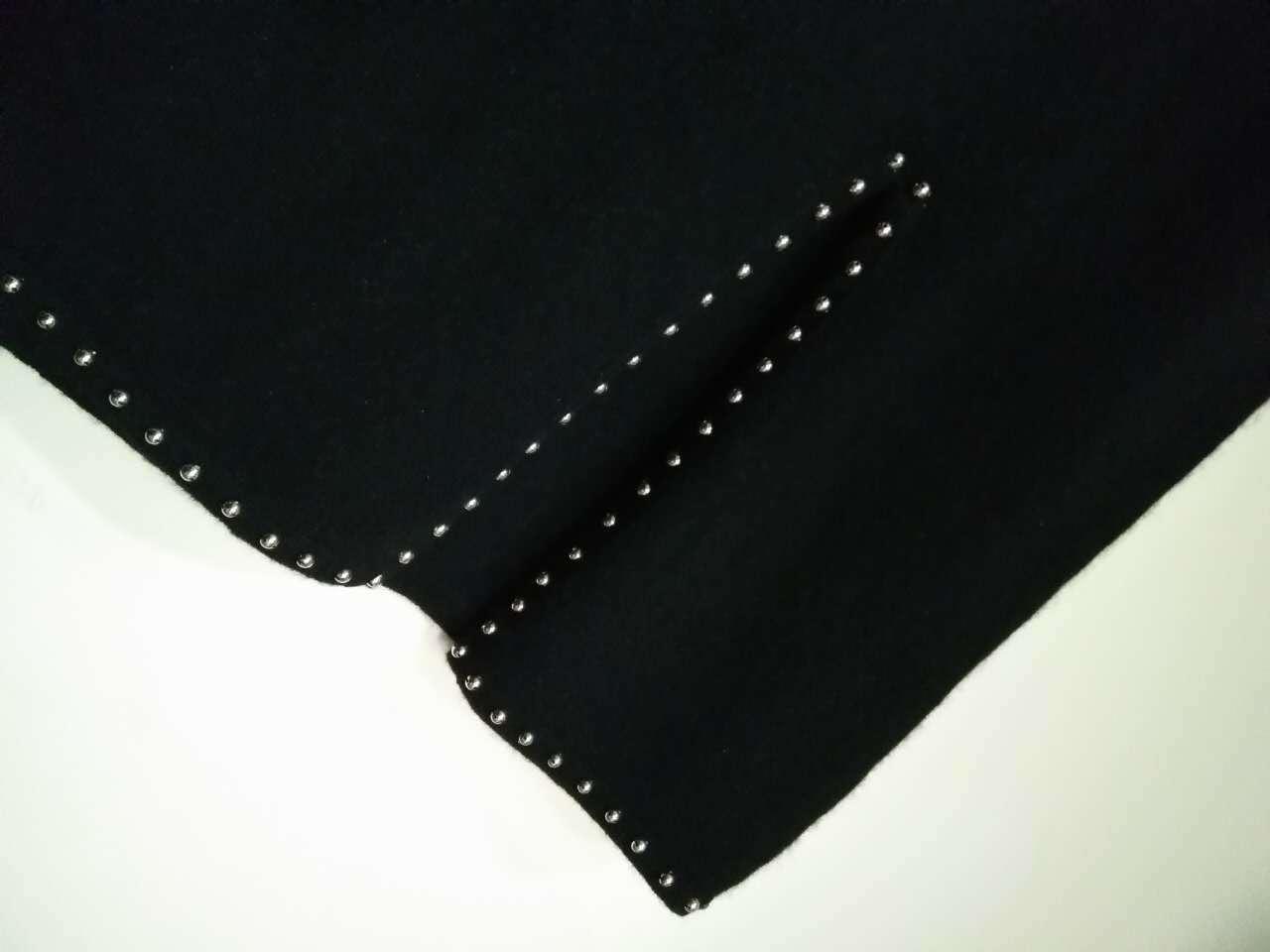 Trj014, 100%Cashmere, Women&Lady, Black, Good Quality, Dress