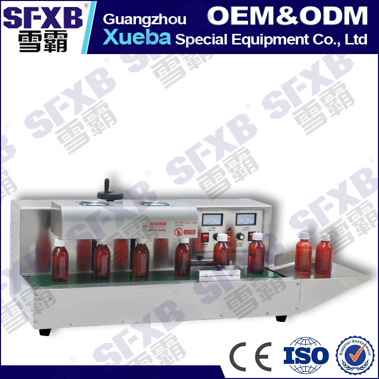 Sf-1300 Desktop Automatic Aluminum Foil Bottle Sealing Machine