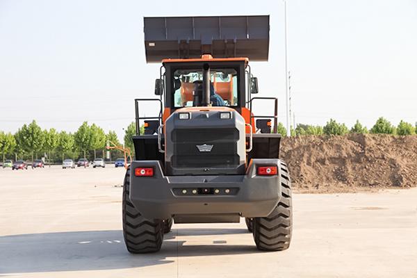 Earthmoving Equipment Ensign 5 Ton Wheel Loader Yx656