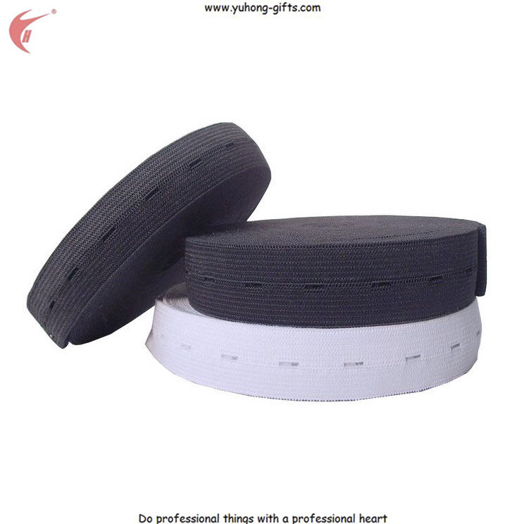 Button Hole Elastic Tape for Garment (YH-ET019)