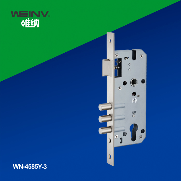 Stainless Steel Mortise Lock Set 4585-3