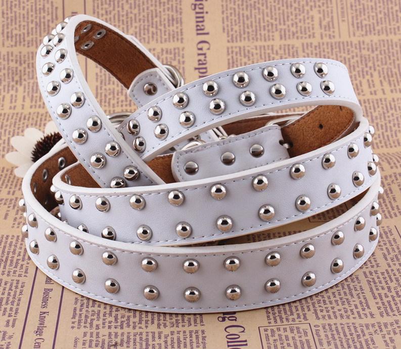 Pet Product Dog Cat Leather Collar (C007)