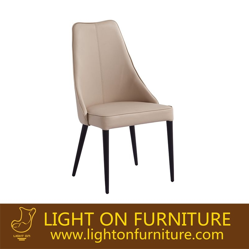 High Back White Color Dining Chair Manufactor (C023)