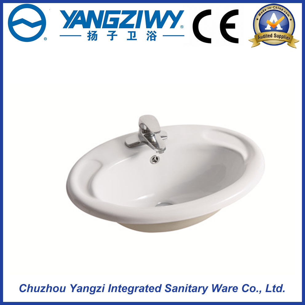Ceramic Above Counter Basin (YZ1322)