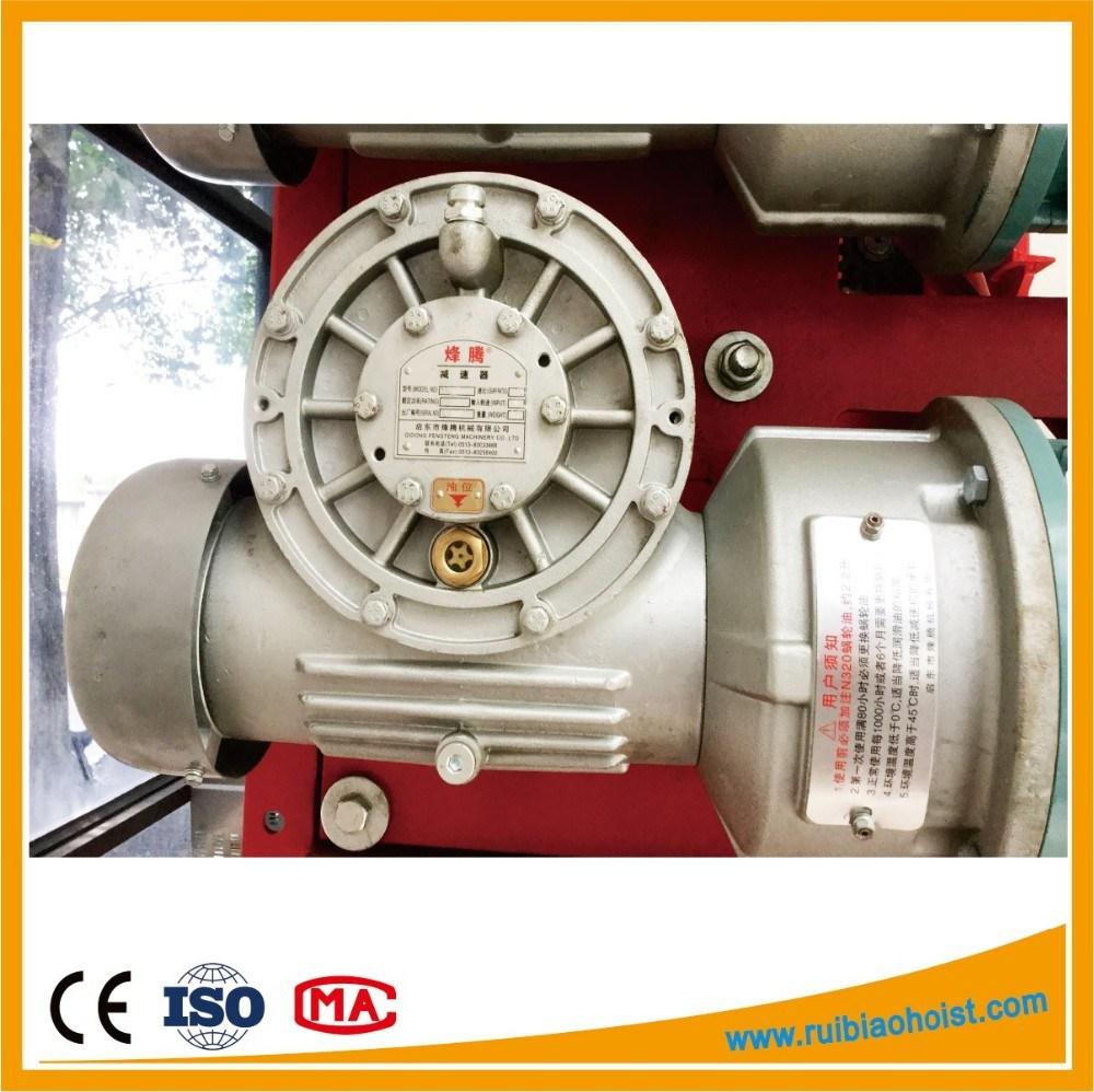 Construction Hoist Worm Gear Speed Reducer