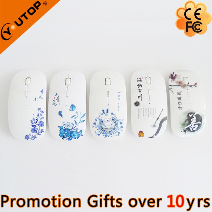 Hot Custom Logo USB Optical Wireless Mouse (YT-M02)