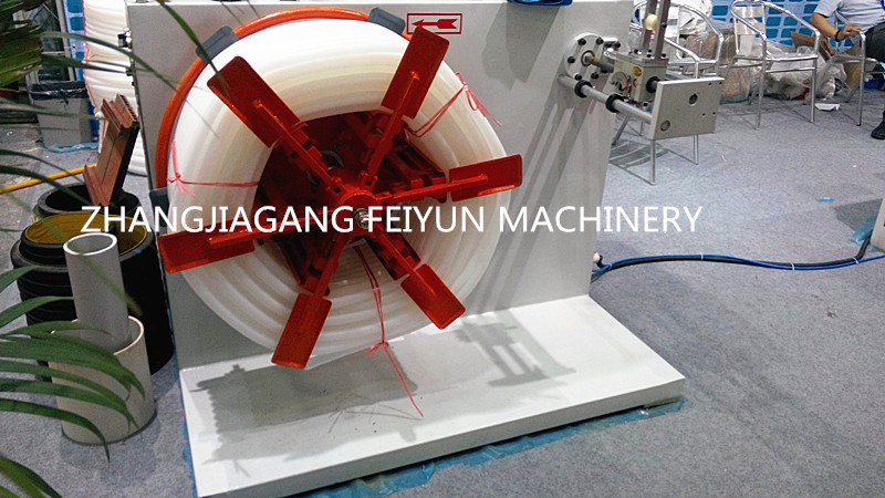 PE Single Wall Corrugated Pipe Extruder Machine