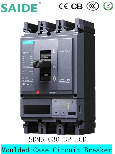 Sdm6 MCCB Intelligent Moulded Case Circuit Breaker