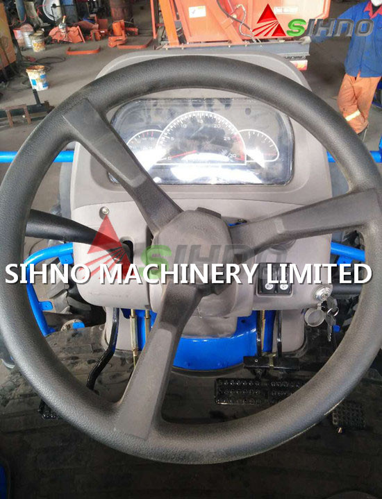 New 50HP Four-Wheel Driving Wheel Tractor with Diesel Engine