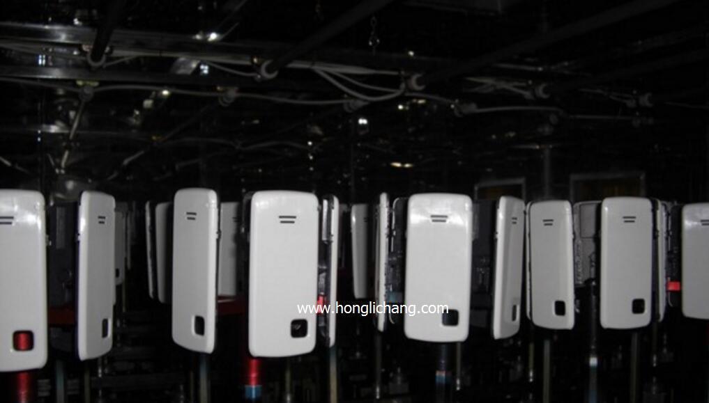 Dustfree Gun-Fixed Automatic UV Spray Coating Line