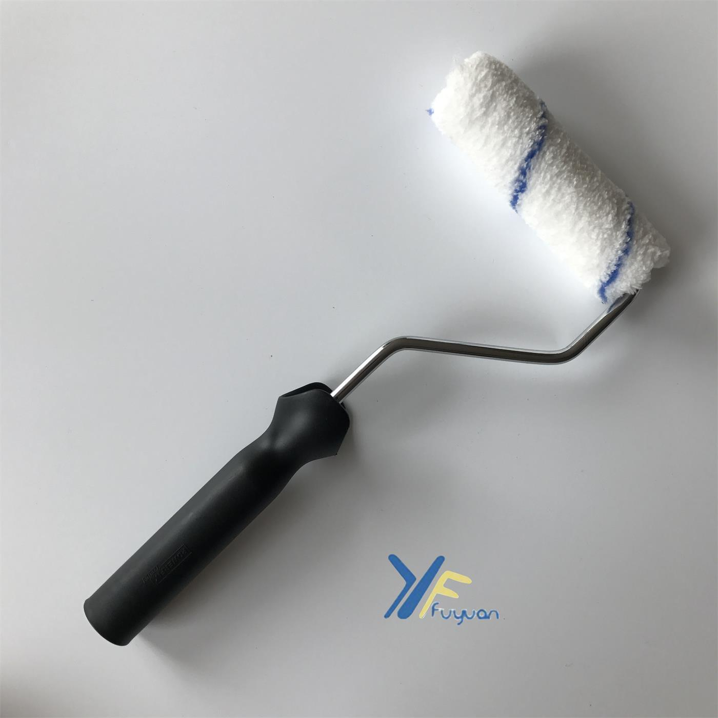 4′′ Microfiber Mini Blue Stripe Paint Roller