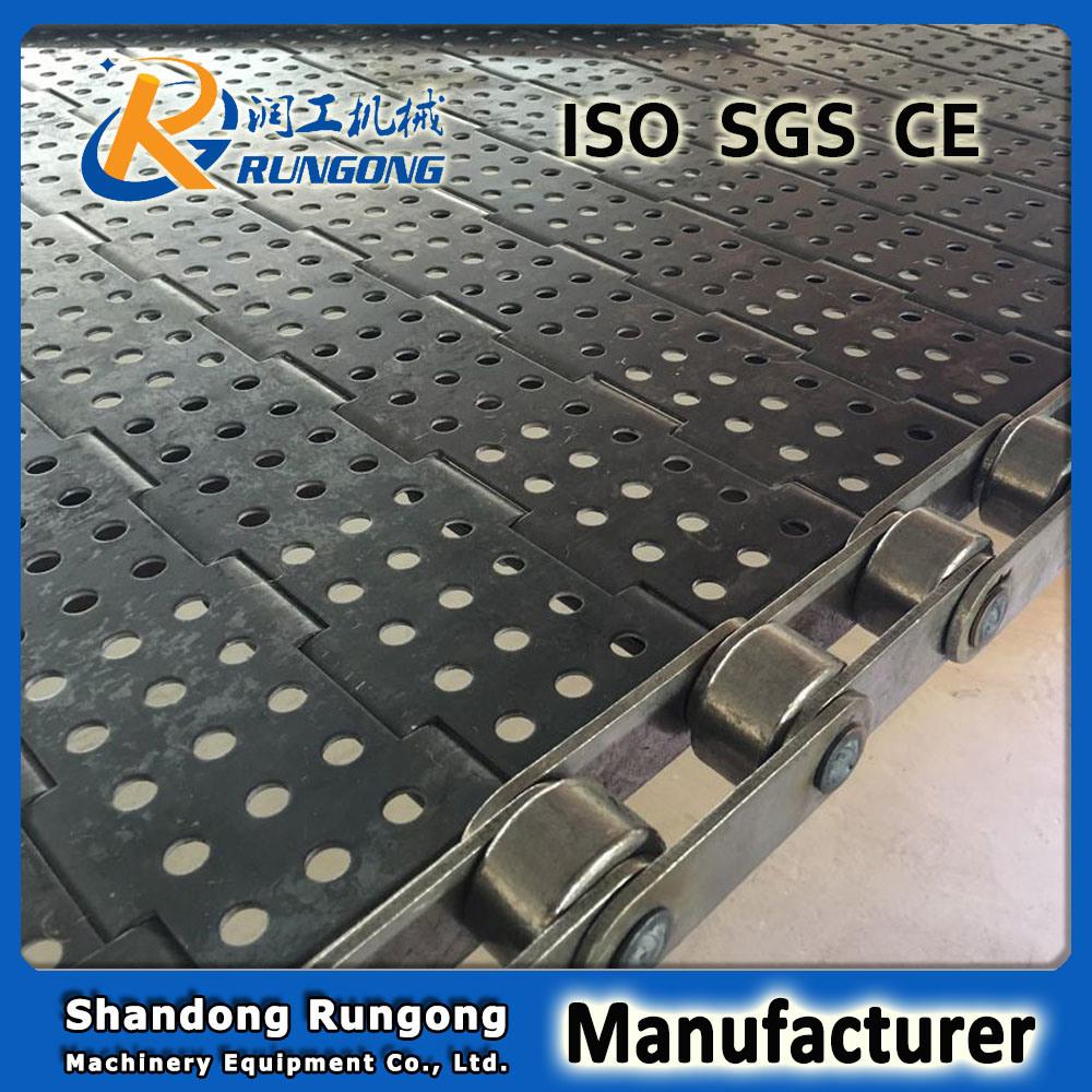 Stainless Steel 304 Plate Linked Metal Conveyor Belt