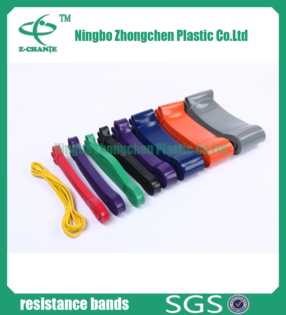 Soft Free Sample Flexible Training Rubber Latex Fitness Band