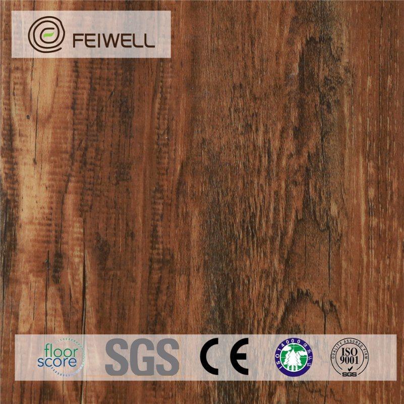 Solid Color Lvt Waterproof Flooring Cork Back