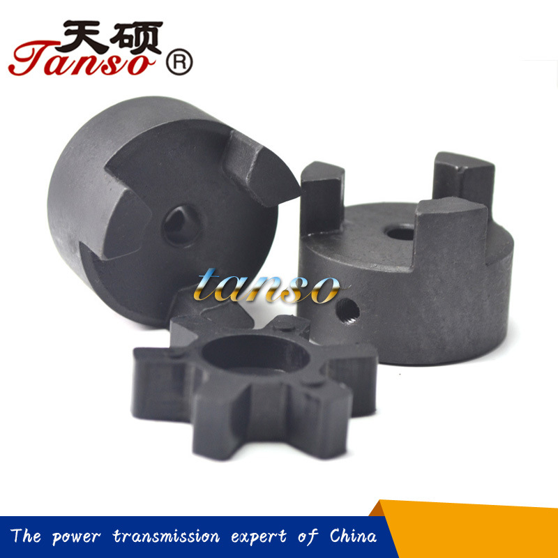 TSL Curved Jaw Coupling Aluminum Material for Pumps