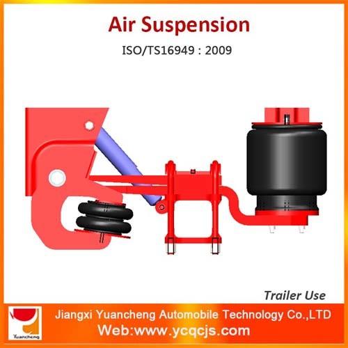 German Type Air Suspension Bag Lifting Trailer Suspension