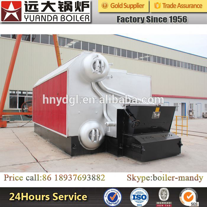 China Chain Grate Stoker Automatic Biomass Fired Steam Boiler
