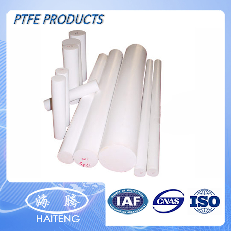 1-500 Diameter White Virgin Extruded PTFE Bar Mc Nylon PTFE Rod/Tube