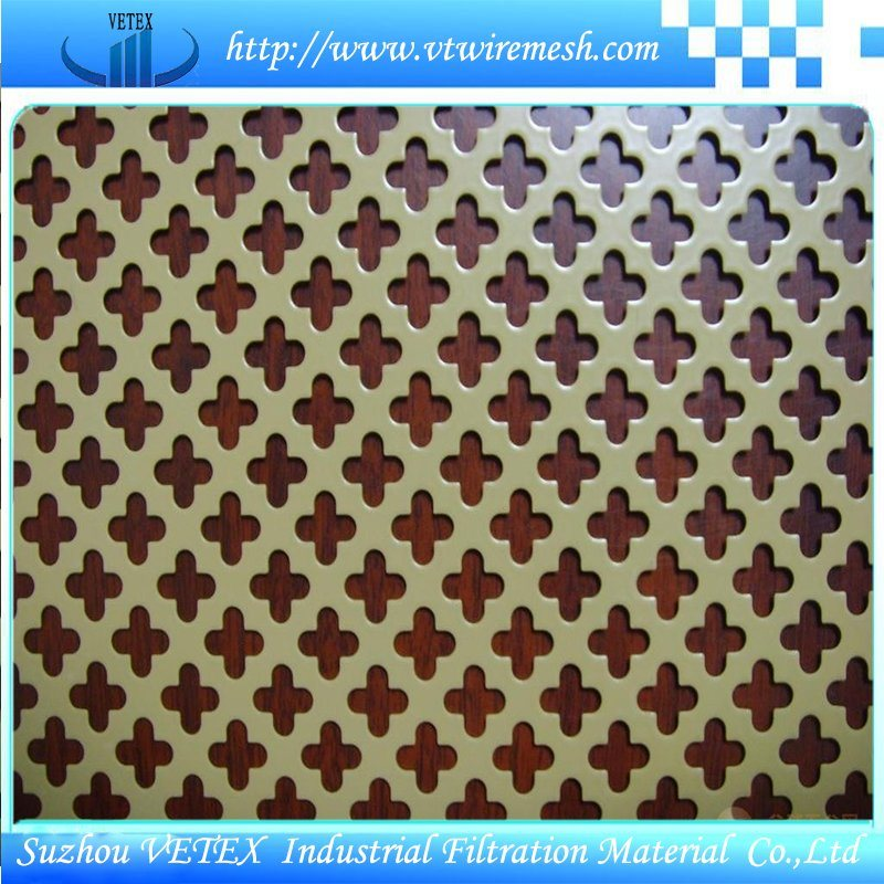 Stainless Steel 304 or 316 Perforated Mesh