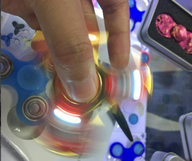 LED Hand Spinner for Stress Relieve