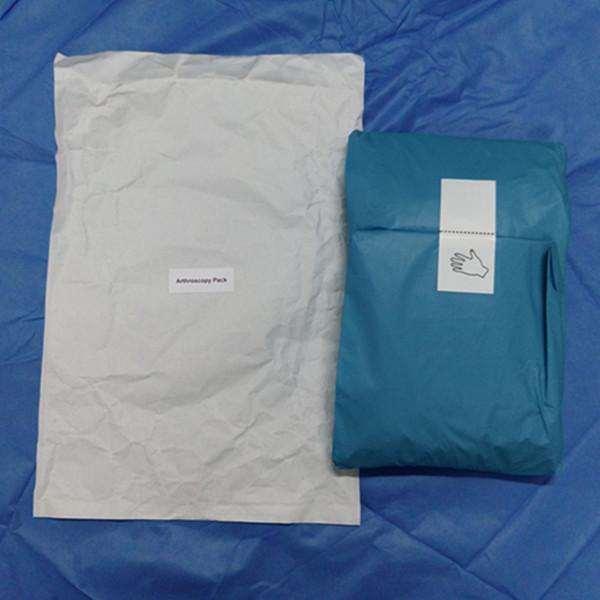 Arthroscopy Knee Pack Drape Medical Disposable