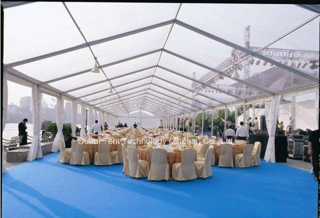 10m Width Party, Dining Restaurant Marquee with Beautiful Transparent Roof