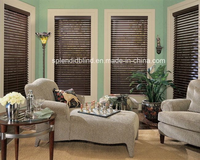 Wooden Windows Blinds Basswood Quality Windows Blinds