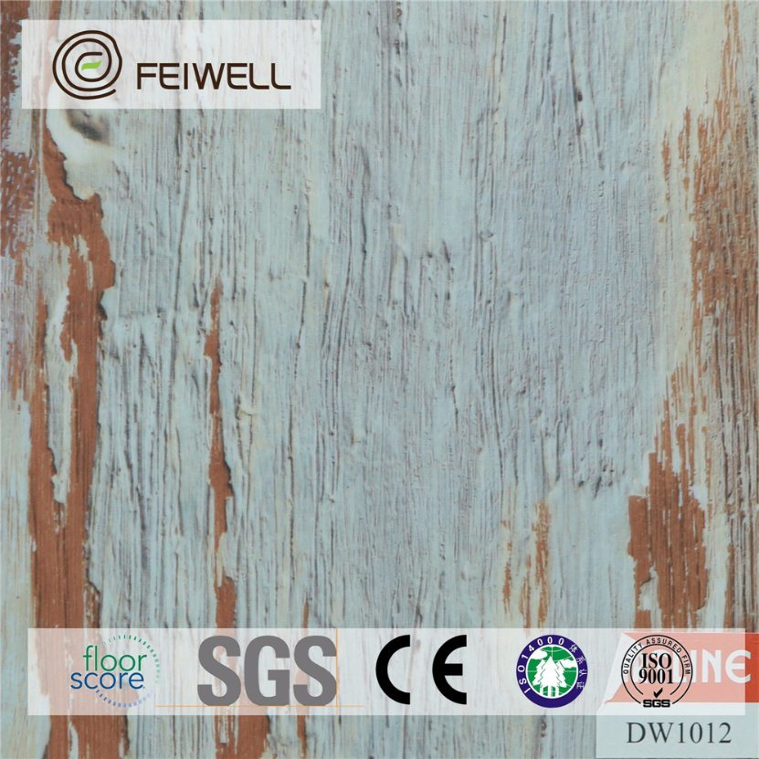 Solid Color Lvt Waterproof Flooring Cork Back