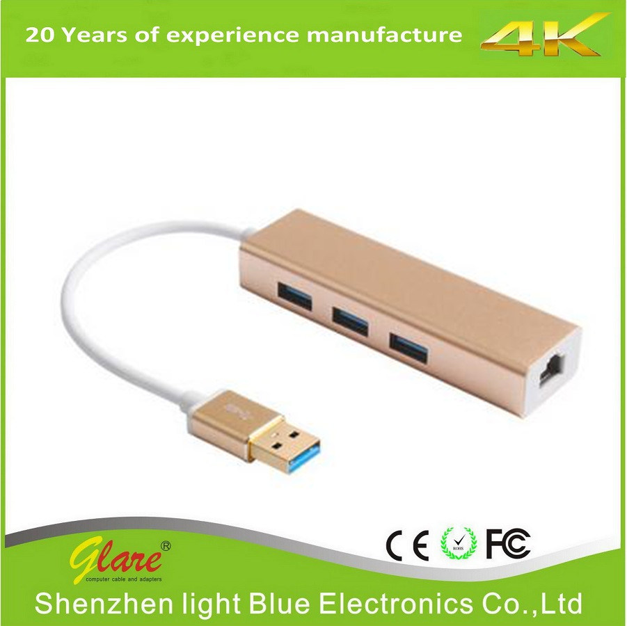 USB 3.0 to Ethernet Adapter Cable