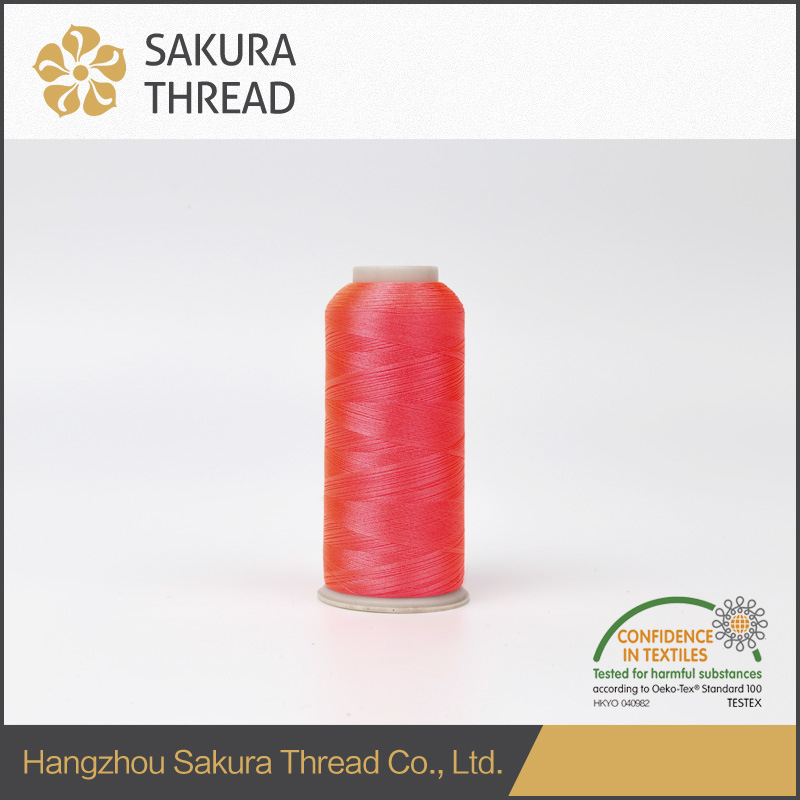 100% Viscose 120d/2 Embroidery Thread with Oeko-Tex100 1 Class