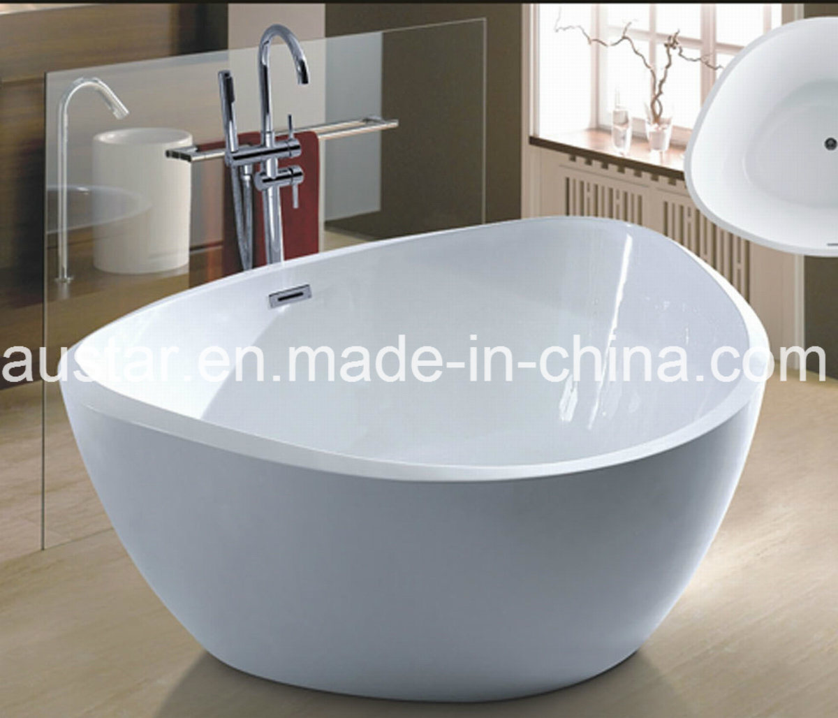 New Triangle Freestanding Bathtub SPA for Villa (AT-6020)