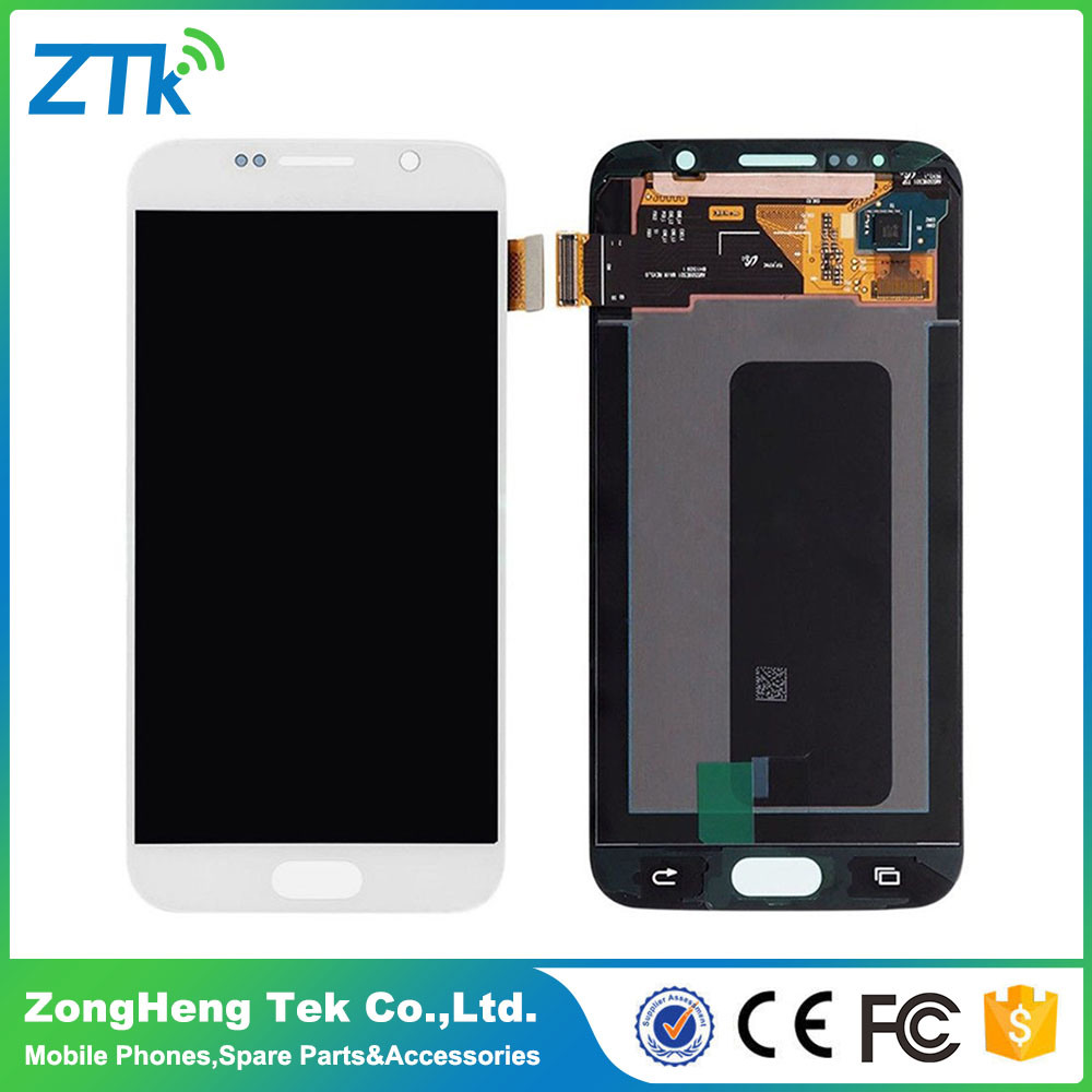No Dead Pixel Phone LCD Assembly for Samsung Galaxy S6