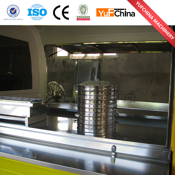 Good Quality Stainless Steel Electric Tricycle Cart for Selling Food
