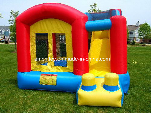 Yellow Inflatable Bouncer with Slide