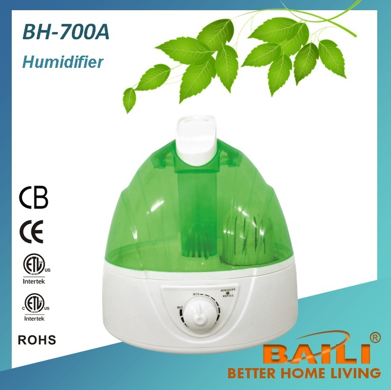 Ultrasonic Humidifier with Mist Adjustment