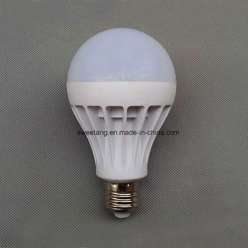 LED Plastic Bulb with E27 E14 Holder in 220V 3W