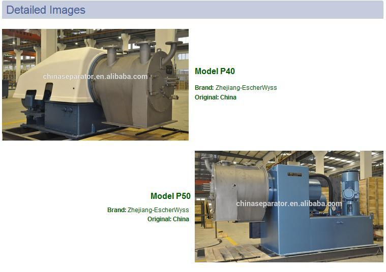 Two Stages Pusher Centrifuge for Chemcial Process