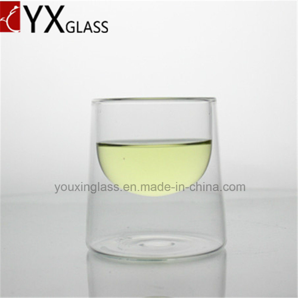 Borosilicate Glass Drinkware Double Wall Glass Tea Juice Wine Beer Milk Coffee Cup Mug/Espresso Drinking Glass Mug