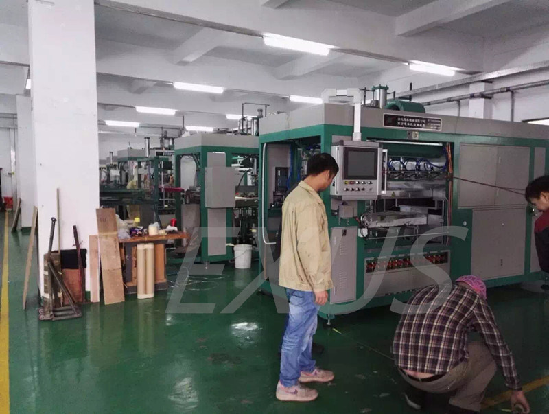 1250mm Pet Film Molding Plastic Cake Trays and Box Cup Lid Making Machine