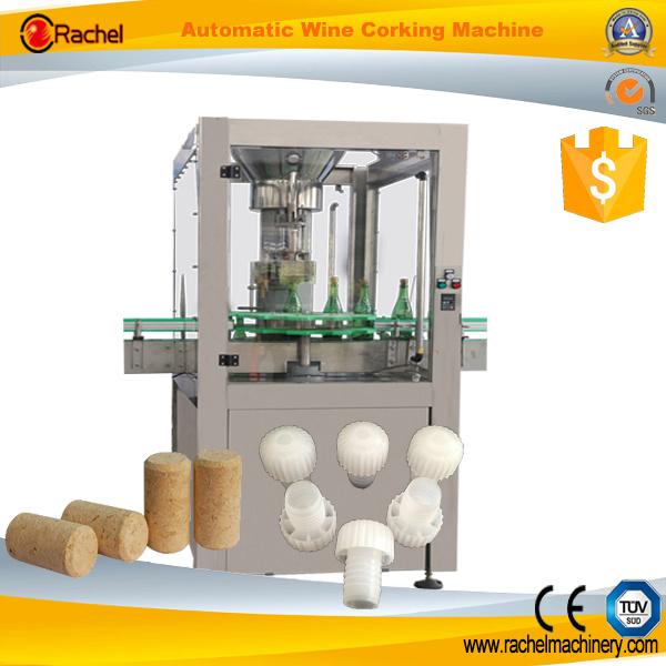 Automatic Sparkling Wine Bottle Corking Machine