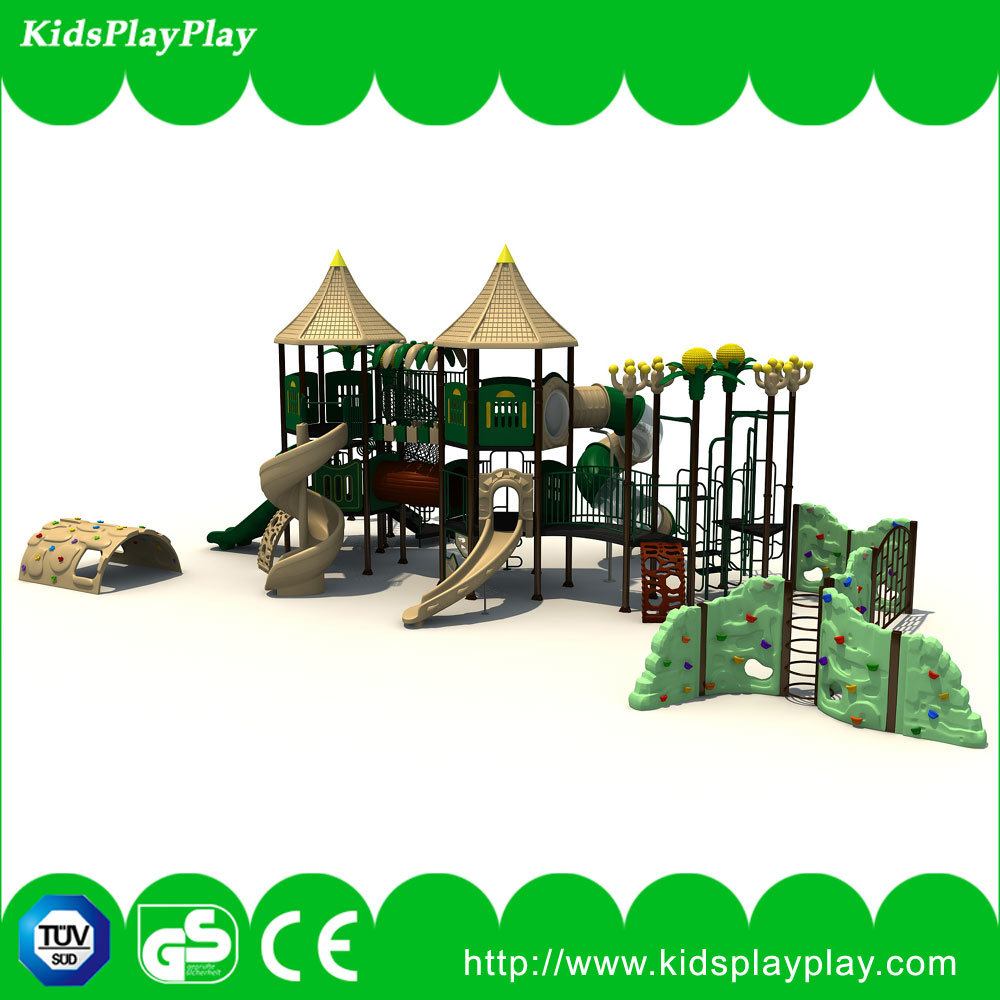 Amusement Park Games Plastic Children Outdoor Playground for Sale (KP160429E)