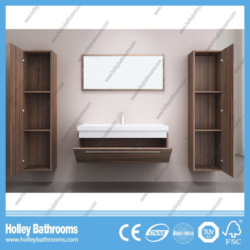 The Latest Popular and Modern Wood MDF Large Space Bathroom Furniture (B794D)