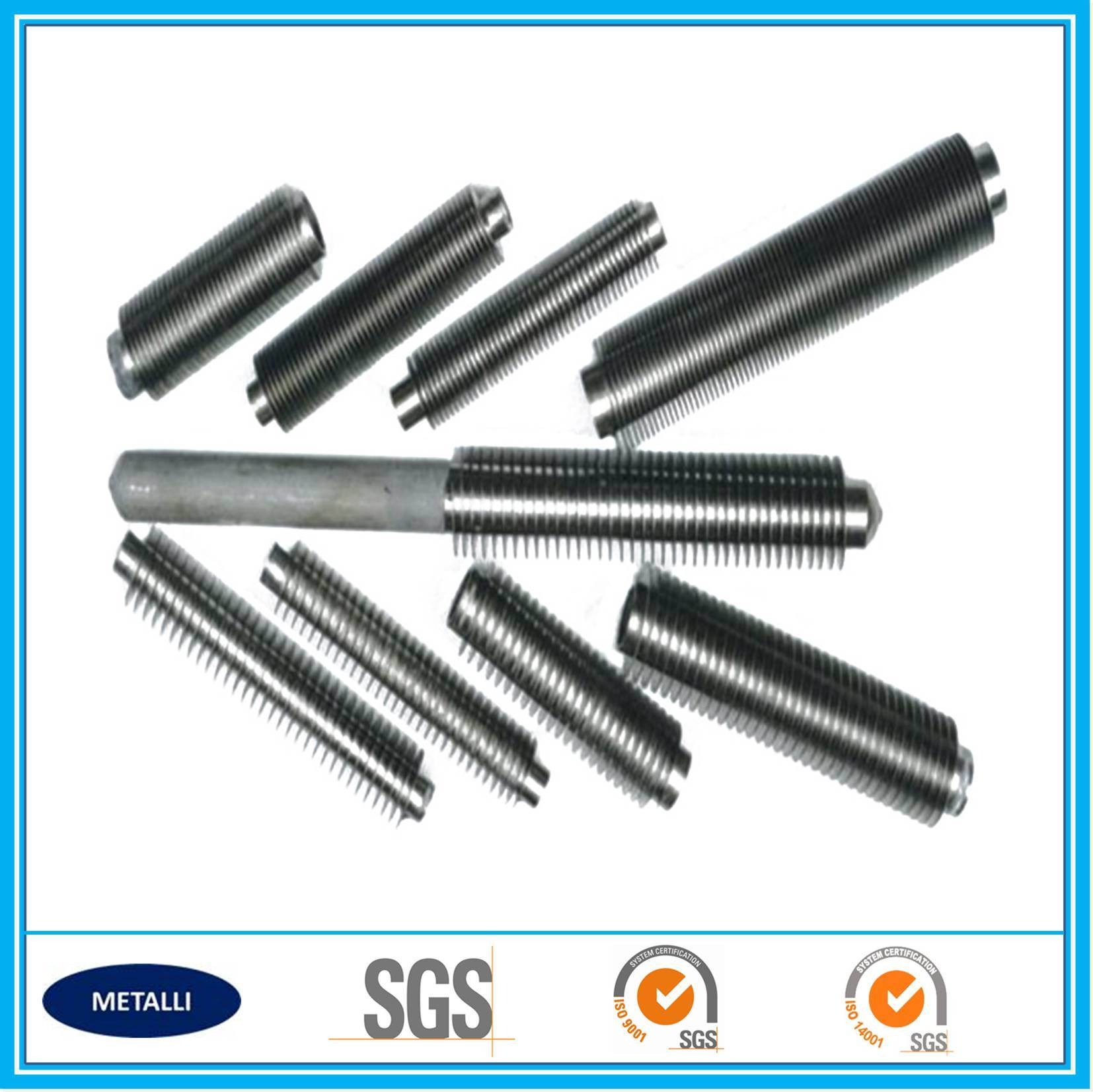 Low Carbon Steel and Aluminum Composite Fin Tube