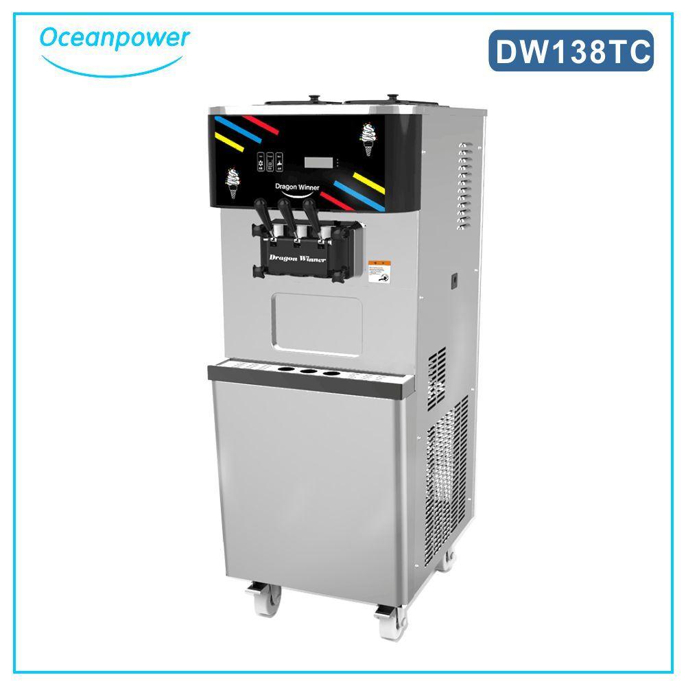Soft Ice Cream Machine (Oceanpower DW138TC)